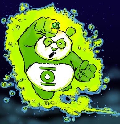 Green Panda