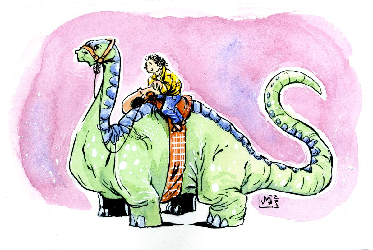 Dinoshorse