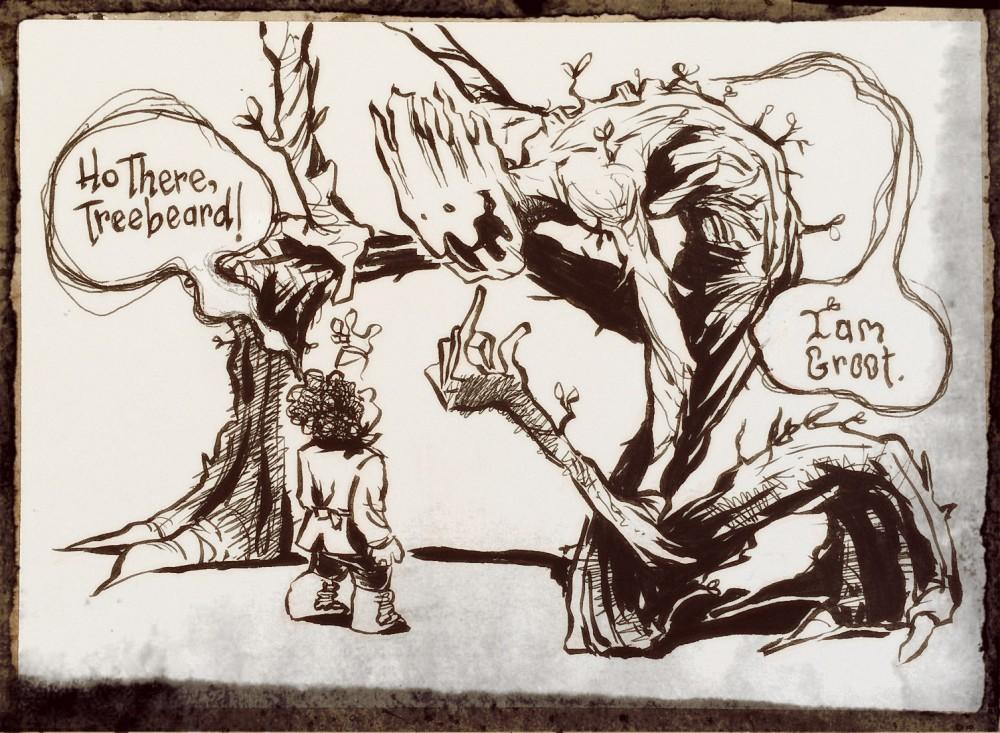 TreeBeard Groot