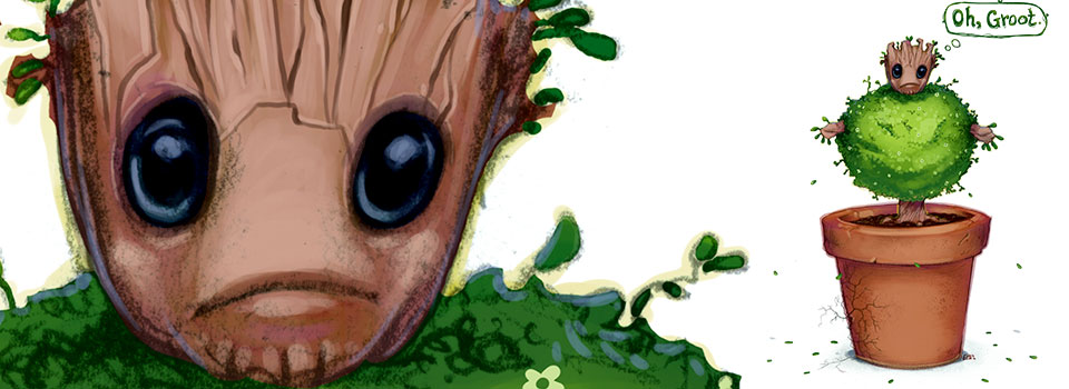 Oh, Groot.