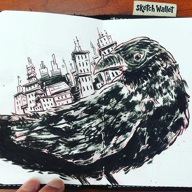 Upon Raven Back