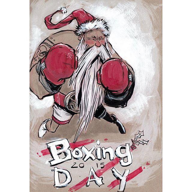 Boxing Day Prep