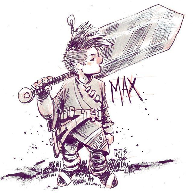 Character Design: Max