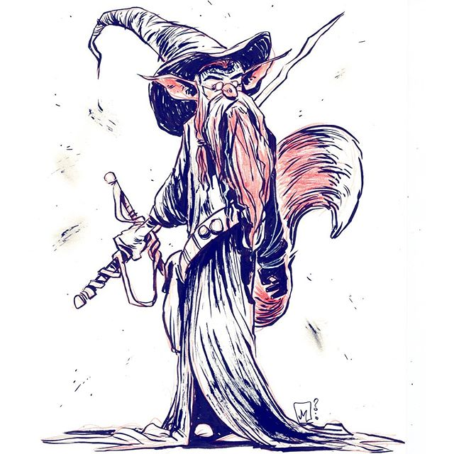 Foxy Wizard Warrior